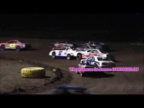 Salina Speedway Coors Light IMCA Stock cars 8-18-17