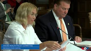 Lucido, Dr. Copf testify on bill prohibiting COVID-19 patients in nursing homes