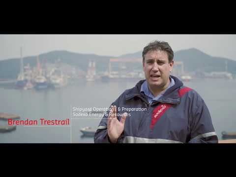 Sodexo Energy & Resources  Offshore life Mobilisations