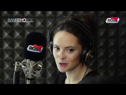 Francesca Michielin RGS interview (Sanremo 2016)