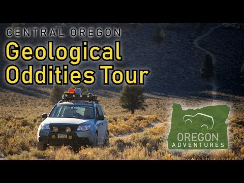 Softroading: Oregon: Geological Oddities Tour