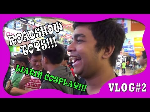 Vlogging DAY(2) Kedatangan Tamu Sepesial & National ROADSHOW TOYS and Games !!