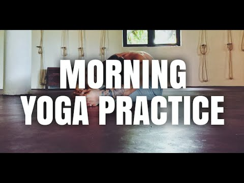 Morning Yoga Class to Wake Up Your Body | Yoga with Patrick Beach