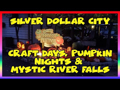 SDC Craft Festival, Pumpkin Nights And Mystic River Falls Construction | Sir Willow's Park Tales