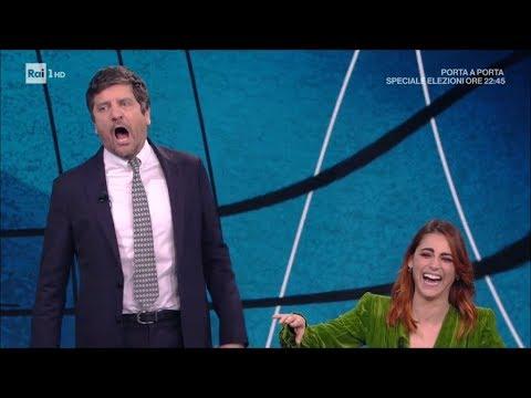 Fabio De Luigi e Miriam Leone - Che tempo che fa 04032018