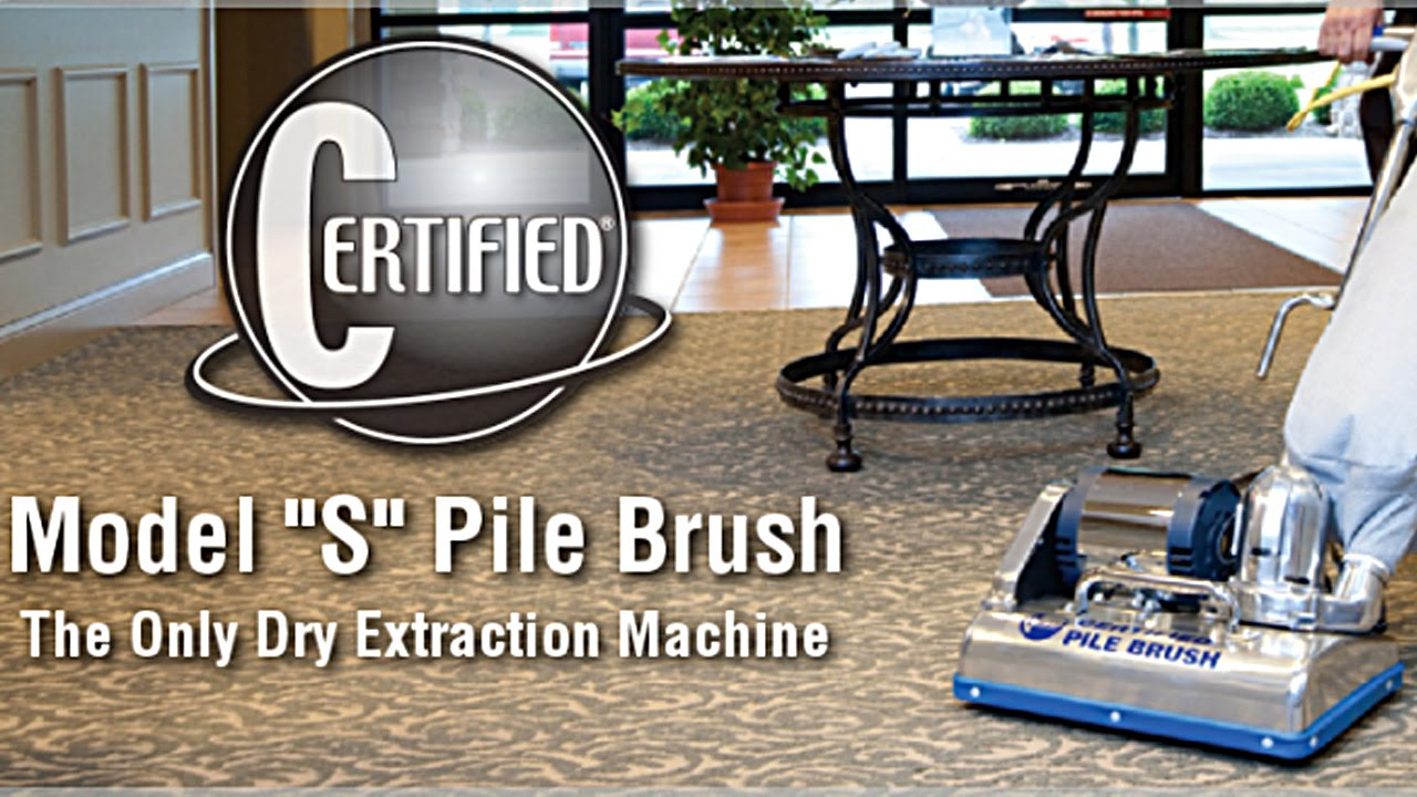 Certified Pile Brush Vacuum Cleaner Dry Extraction