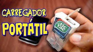 Como fazer um carregador portátil com uma caixinha de Tic Tac!