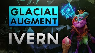Glacial Augment Ivern Jungle - Feed Lane Win Game! (Gameplay and Commentary)