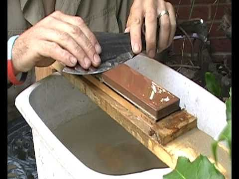 Knife Sharpening With King Japanese Water Stones Youtube