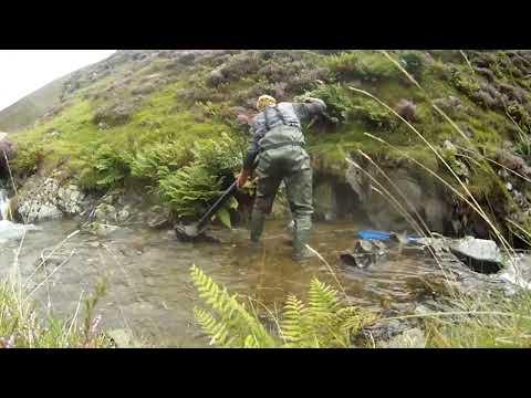 Prospecting  for gold Wanlockhead