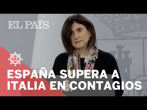 #CORONAVIRUS | ESPAÑA supera a ITALIA en CONTAGIOS