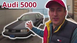 Audi 5000 Turbo Quattro! Американка ! Она же Audi 200, Уникальная находка в Калифорнии!  Обзор