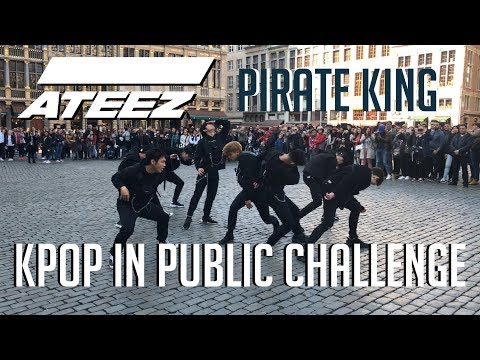 [KPOP IN PUBLIC CHALLENGE] ATEEZ - 'Pirate King' Dance cover by The Aim from Belgium