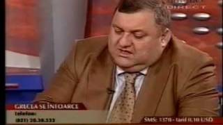 8.12.2003 - Grecea se intoarce de la consulat  si devine prefect al Capitalei