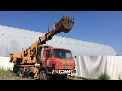 Экскаватор - планировщик Татра удс -114