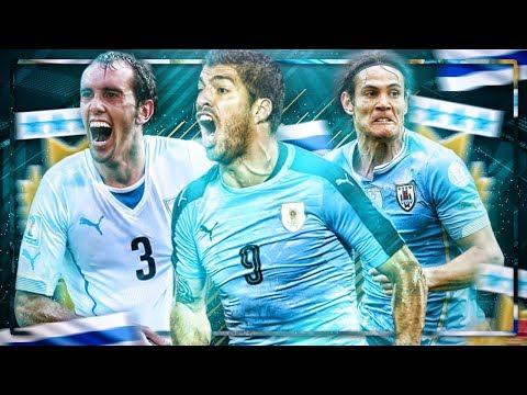PLANTILLA SELECCION DE URUGUAY !!! CAVANI !!! SUAREZ !!! || FIFA 18 MOBILE