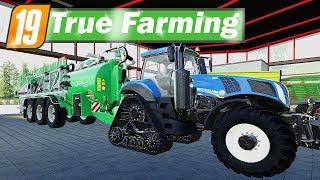LS19 True Farming #72 - GÜLLETECHNIK und SUBVENTION für das LU   Farming Simulator 19