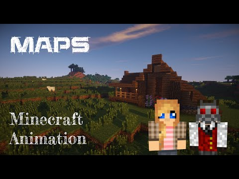 Maroon 5 - Maps, Minecraft Machinima
