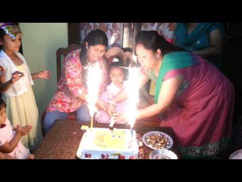 Samragyi 2nd birthday