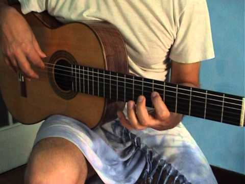 Flamenco Guitar Exercise: Picado in Group of 6 Notes