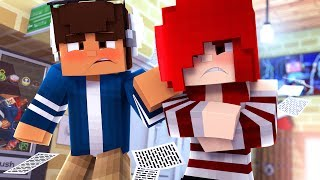 Teaming with Raven | Glenwood Prep S1 [Ep.7] | Minecraft School Roleplay