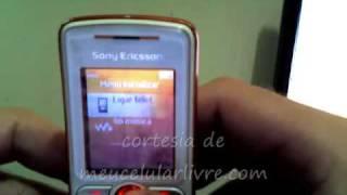 Desbloqeuio de SonyEricsson via IMEI (meucelularlivre.com)
