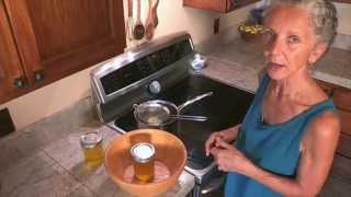 How to make organic ghee for Ayurvedic cooking. The wonders of ghee.