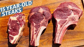 Download Video What Do Steaks from a 15-Year-Old Cow Taste Like? — Prime Time MP3 3GP MP4