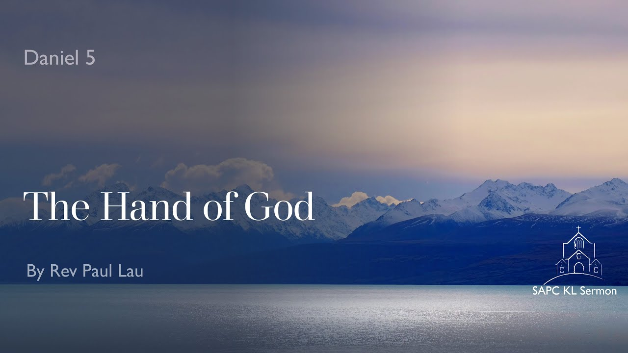 Daniel 5 The Hand of God