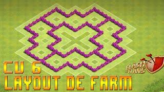 Clash Of Clans - Layout's de Farm e de Push CV6
