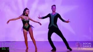 Milen &amp Plamena - Bachata Show Balkan Salsa Congress 2018