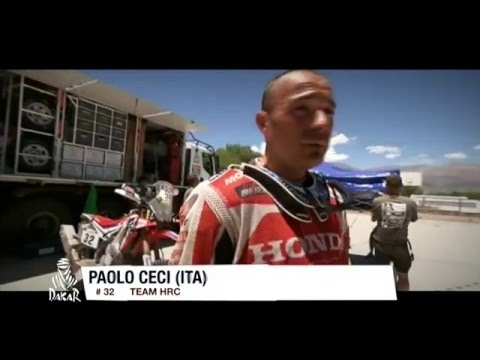 Team HRC Dakar Rally 2016 Stage 9