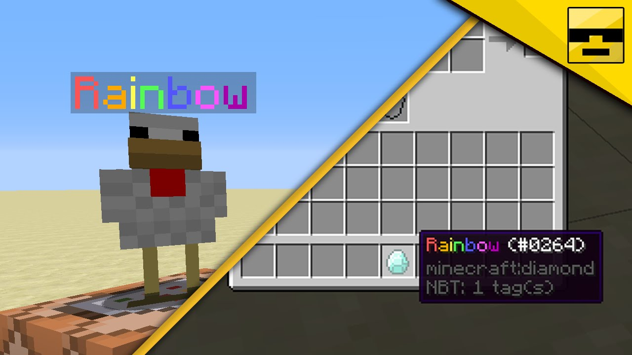 minecraft colored mob names