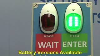 Traffic Light Retail /& Business Entrance Wireless Control Systems with Wall Sign