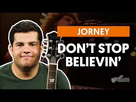 Don't Stop Believin' - Journey (aula De Guitarra)