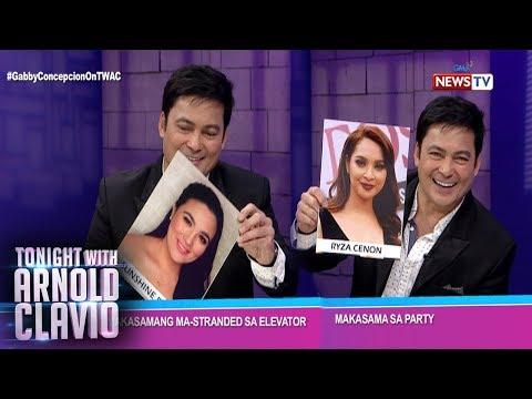 Tonight with Arnold Clavio: Sino sa Kapuso leading ladies ang gustong makasama ni Gabby Concepcion?