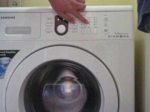 Как протестировать стиральную машину самсунг