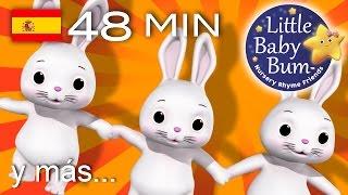 Los conejitos dormilones   Y muchas más canciones infantiles   ¡LittleBabyBum!