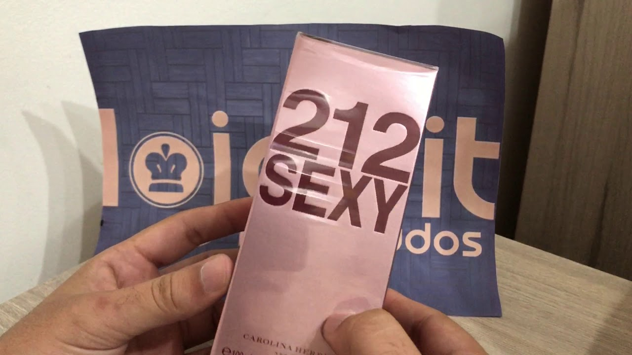 Perfume Importado Original 212 Sexy Feminino Mercado Livre Lojabit Vr