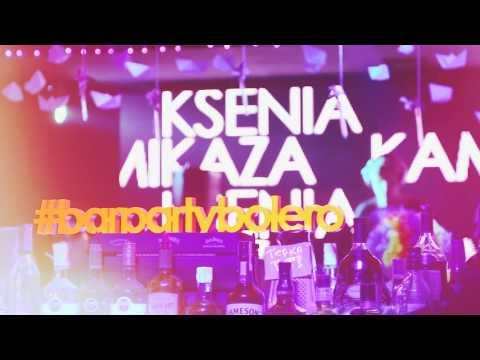 Ksenia Kamikaza & Dima Mitch  In BAR. Party Bolero 9.04.2016