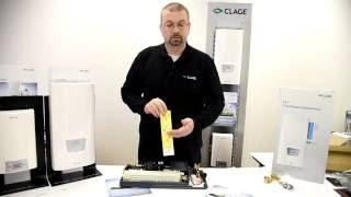 видео электрический проточный водонагреватель Kospel