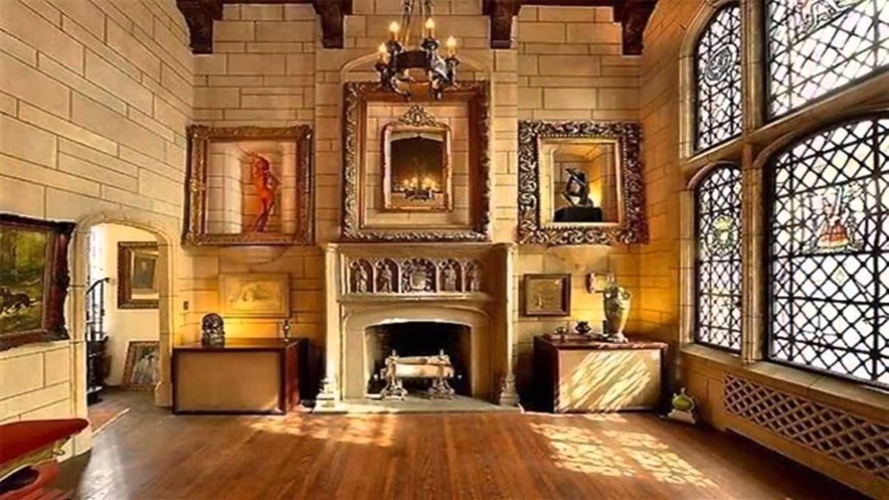 Lounge Decorating Ideas Medieval Interior Design - YouTube