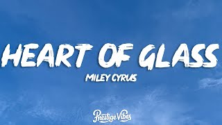 Miley Cyrus - Heart Of Glass (Live from the iHeart Music Festival) (Lyrics)