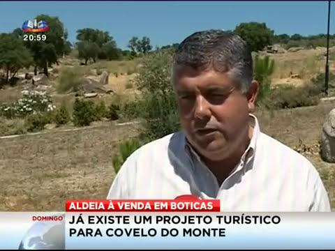 Aldeia de Covelo do Monte em Boticas está à venda -  SIC Notícias