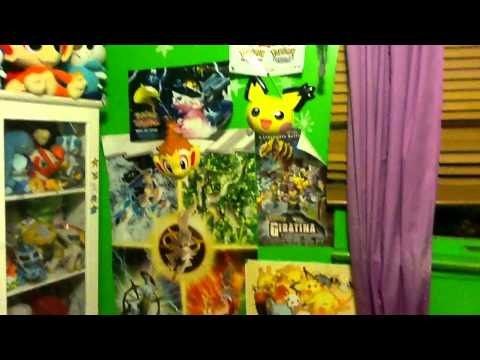 My pokemon room youtube