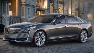 Тест драйв Cadillac CT6.  Новинки авто 2016