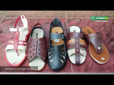 Pembuatan Sepatu Dan Sandal Wanita Di Kajeksan, Kudus