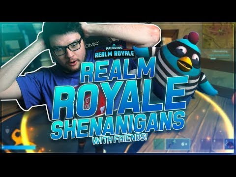 DYRUS | REALM ROYALE SHENANIGANS WITH FRIENDS - Ft. Surefour and Vigors