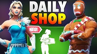 Gingerbread Skin back 🎅 new Christmas skins today in the Fortnite Daily Shop German 25.12