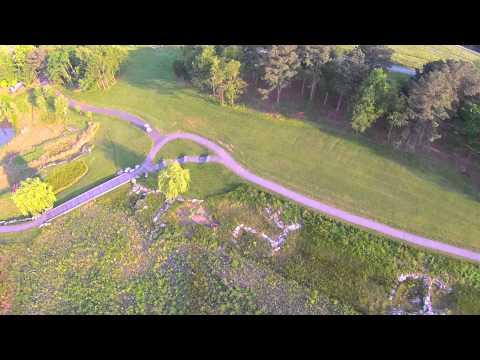 North Carolina Museum of Art. A drone's POV